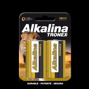 Pila Alcalina Tronex D X2