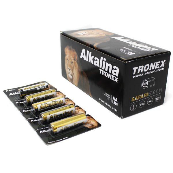 PILA ALCALINA TRONEX AA BLISTER X 5