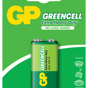 PILA MANGANESO GP GREENCELL GP 9V BLISTER X1