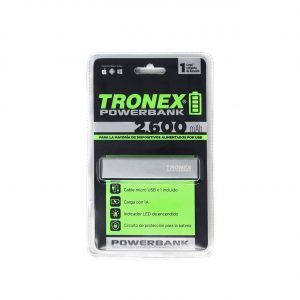 TRONEX POWER BANK LITIO POLIMERO 2.600 mAh Blister x1