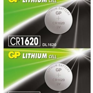 PILA LITHIUM MONEDA GP CR1620 BLISTER X5