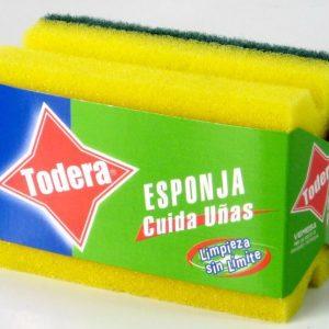 ESPONJA CUIDA UÑAS TODERA (10) (60)