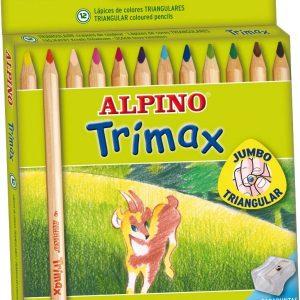 COLORES TRIMAX MADERA CAJA X 12