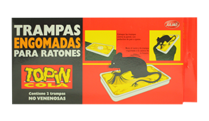 TRAMPAS ENGOMADAS PARA RATONES