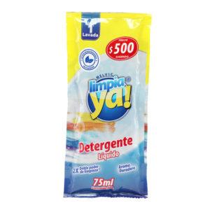 Detergente liquido limpiaya 75 ml