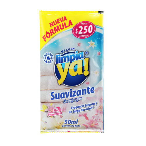 suavizante limpiaya 50 ml