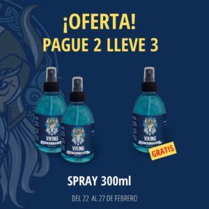 Pague 2 Lleve 3 Spray Antibacterial